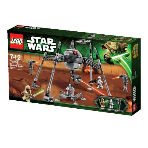 LEGO-Star-Wars-Tm-75016-Homing-Spider-Droid-0