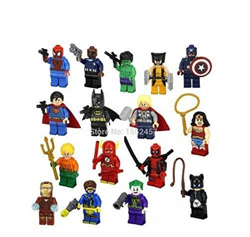 16pcslot-Super-Heroes-Avengers-Captain-America-Spider-man-Wonder-Woman-Minifigures-Building-Blocks-Toy-Compatible-with-Lego-by-chawi-chongyang-0